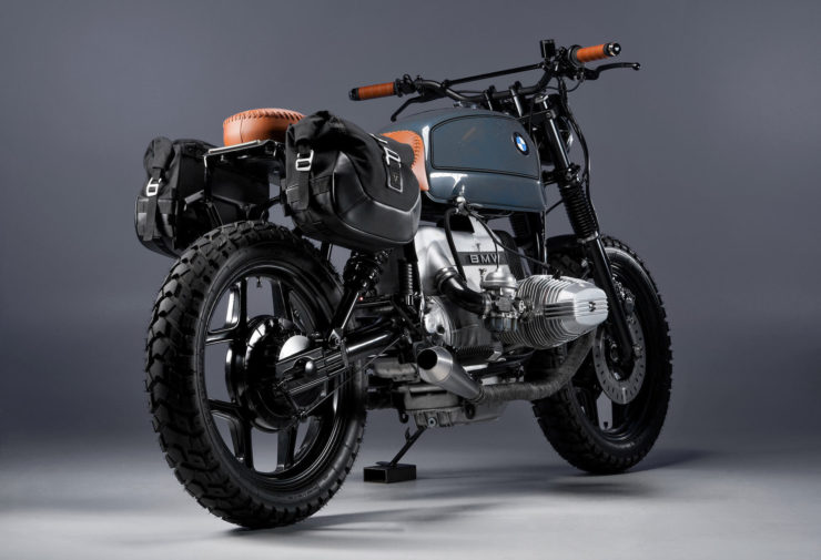 BMW R80 Custom Motorcycle 7