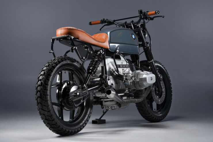 BMW R80 Custom Motorcycle 8