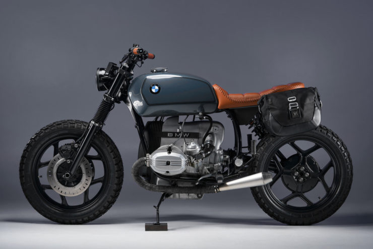 BMW R80 Custom Motorcycle 9