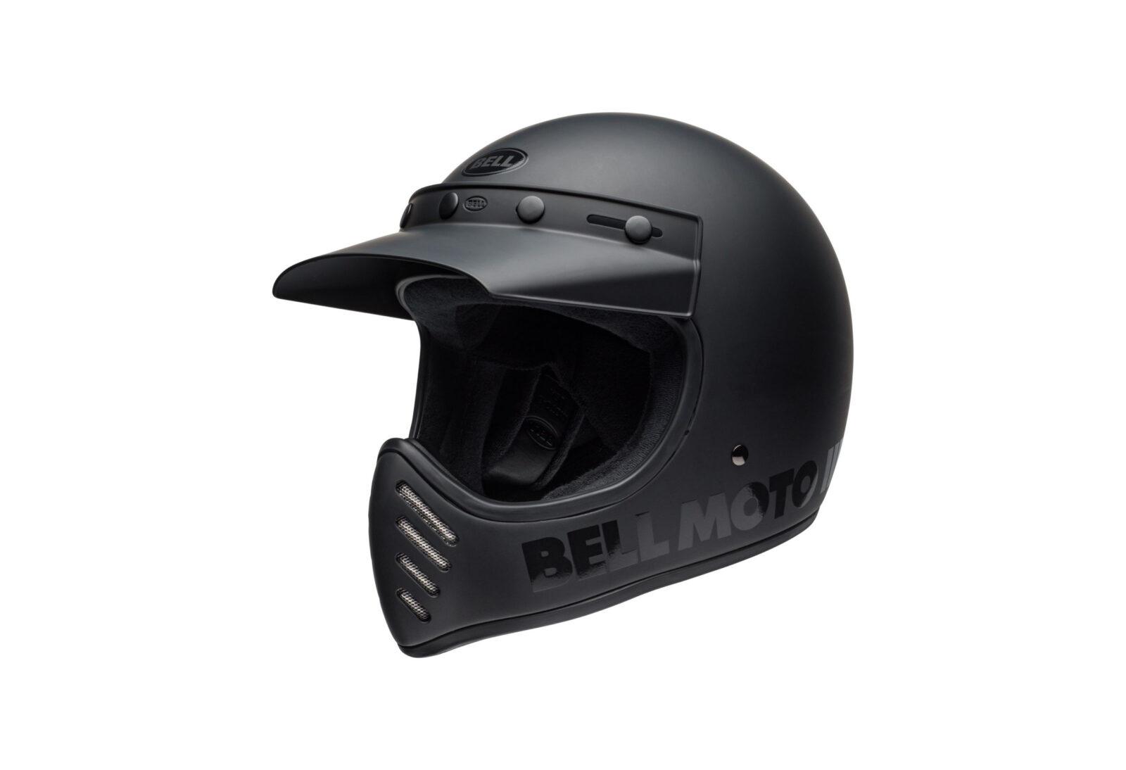 Bell Moto-3 Blackout Helmet
