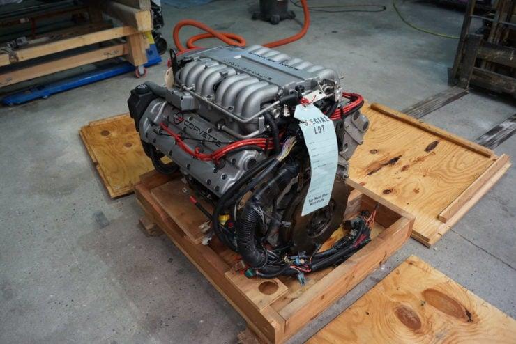 Chevrolet Corvette ZR-1 LT5 V8 Engine 1