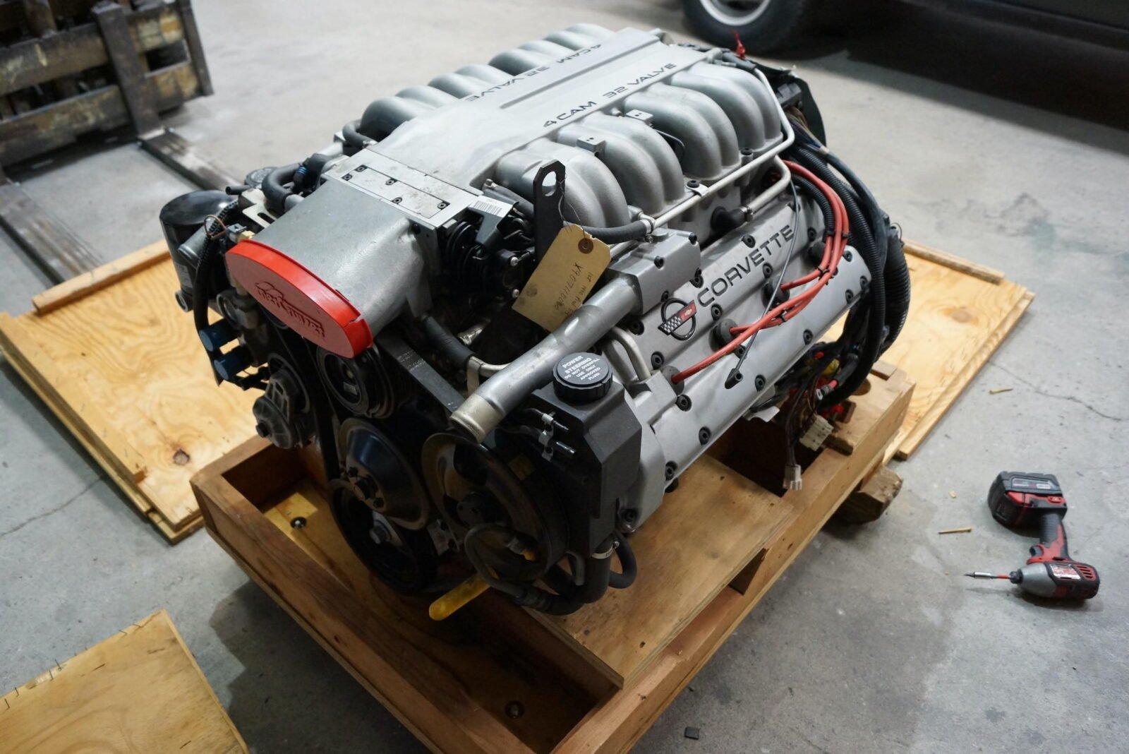 Chevrolet Corvette ZR-1 LT5 V8 Engine