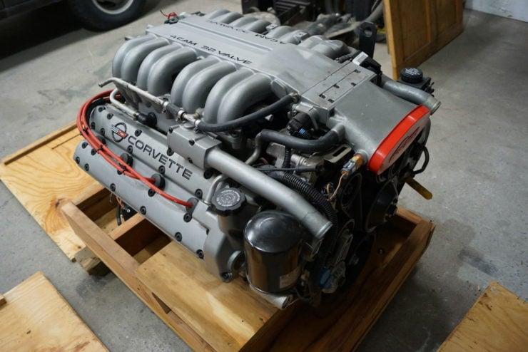 Chevrolet Corvette ZR-1 LT5 V8 Engine 7