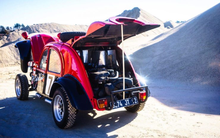 Citroën 2CV Twin-Engined 4x4 Desert Racer 10