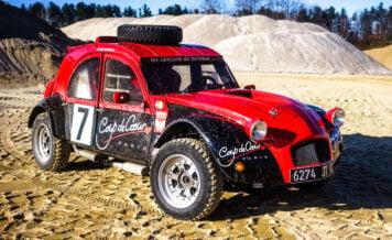 Citroën 2CV Twin-Engined 4x4 Desert Racer