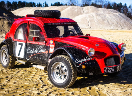Citroën 2CV Twin-Engined 4x4 Desert Racer