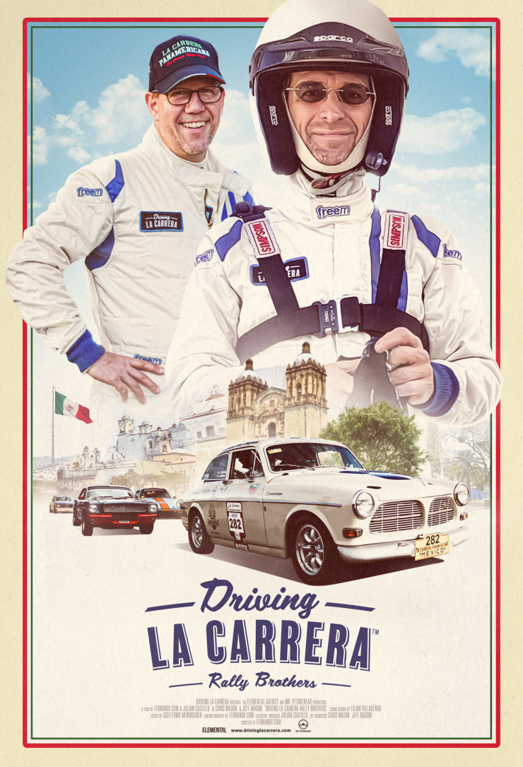 Driving La Carrera Rally Brothers Movie Poster
