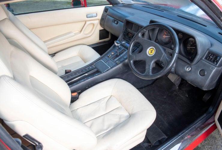Ferrari 412 Pick-Up Interior 2