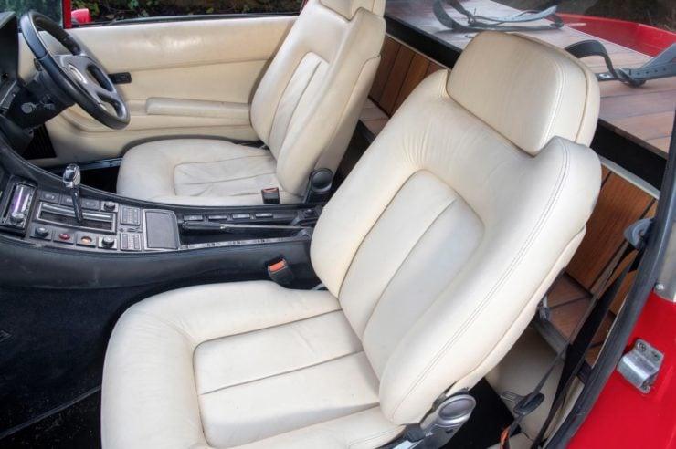 Ferrari 412 Pick-Up Seats