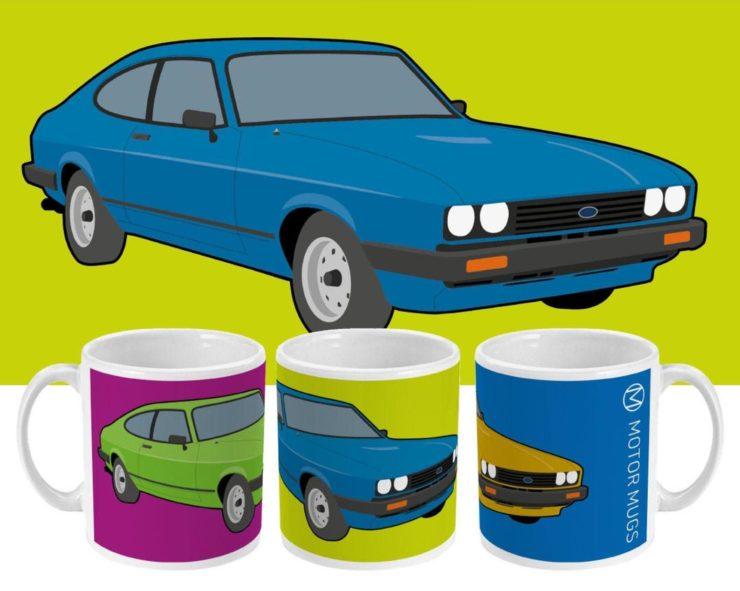 Ford Capri Motor Mugs