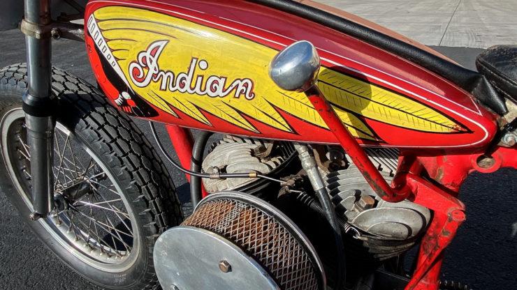 Indian Big Base Scout Racer 6