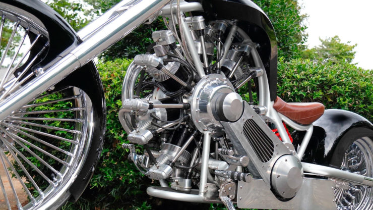 JRL Cycles Lucky 7 – A Radial Engine Production Motorcycle 12