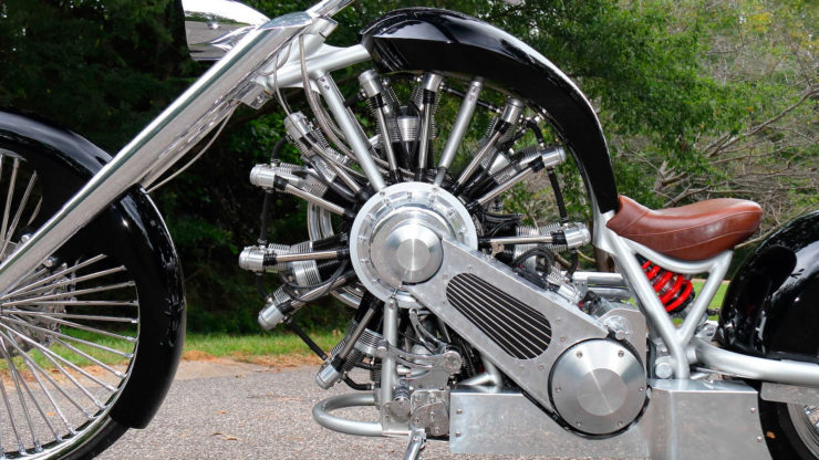 JRL Cycles Lucky 7 – A Radial Engine Production Motorcycle 4