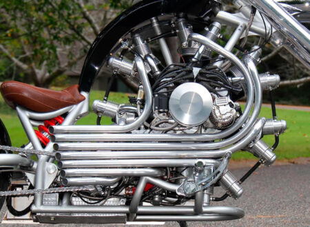 JRL Cycles Lucky 7 – A Radial Engine Production Motorcycle 5