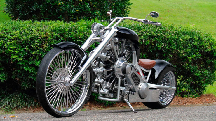 JRL Cycles Lucky 7 – A Radial Engine Production Motorcycle 7
