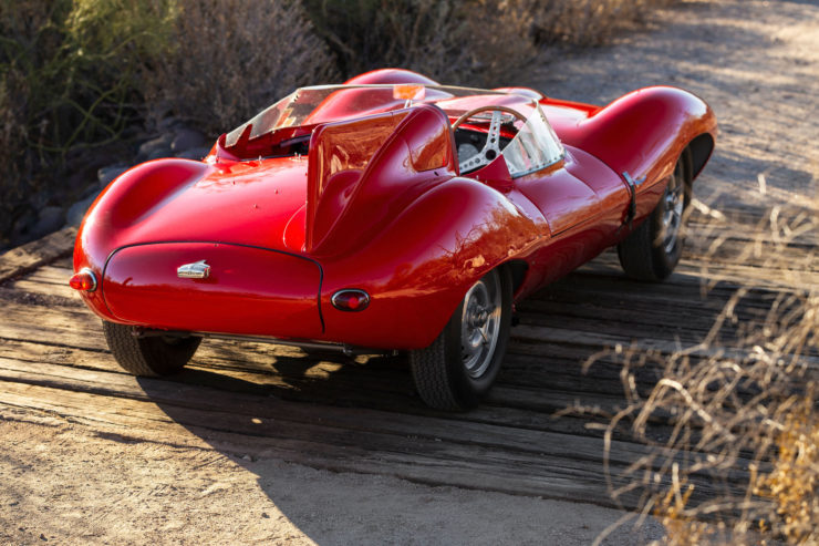 Jaguar D-Type Back