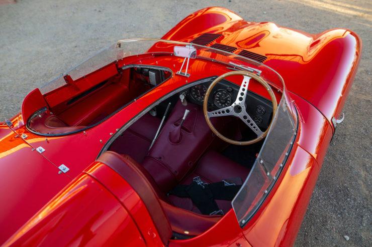 Jaguar D-Type Cockpit