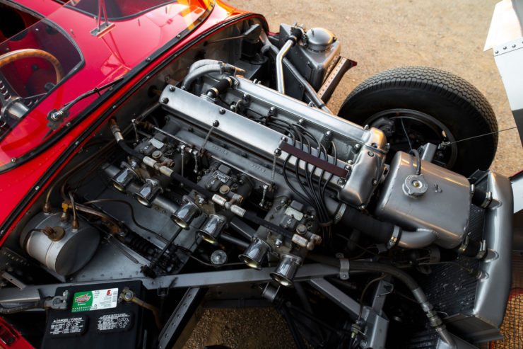 Jaguar D-Type Engine