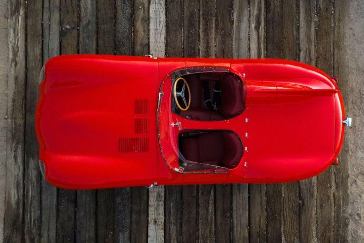 Jaguar D-Type Overhead 2
