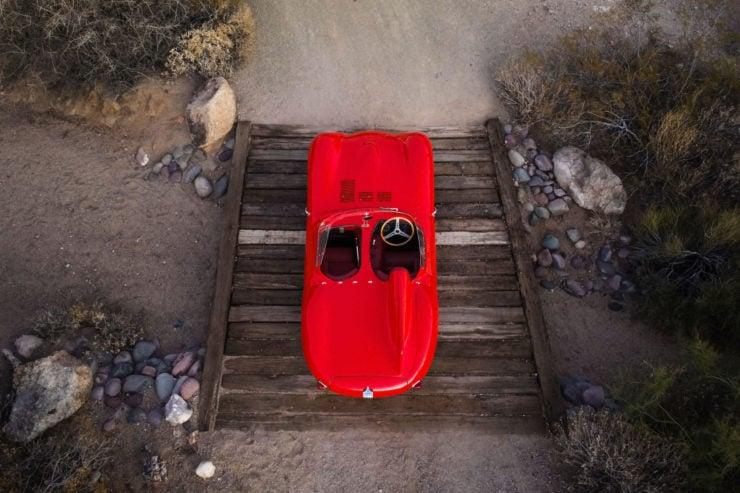 Jaguar D-Type Overhead 3