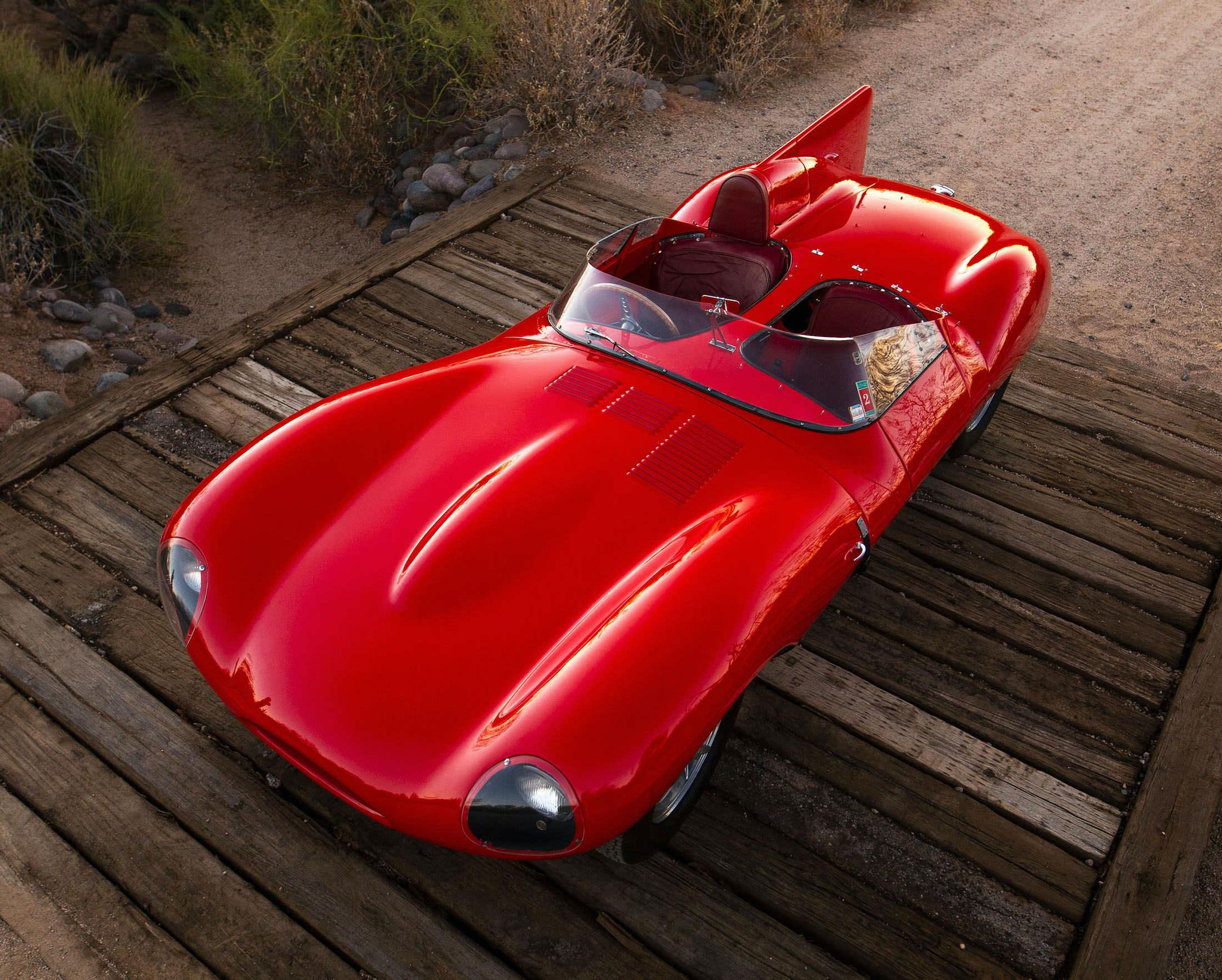 Jaguar D-Type Racing Car