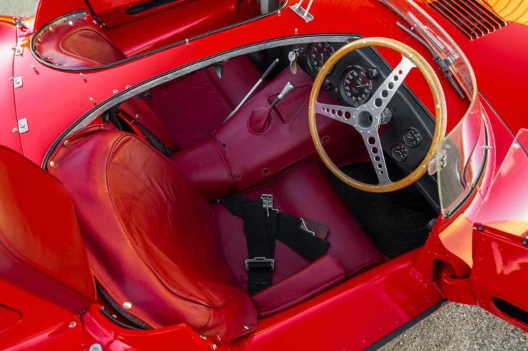 Jaguar D-Type Seats