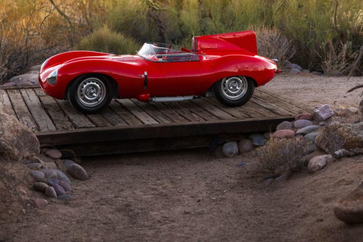 Jaguar D-Type Side 2