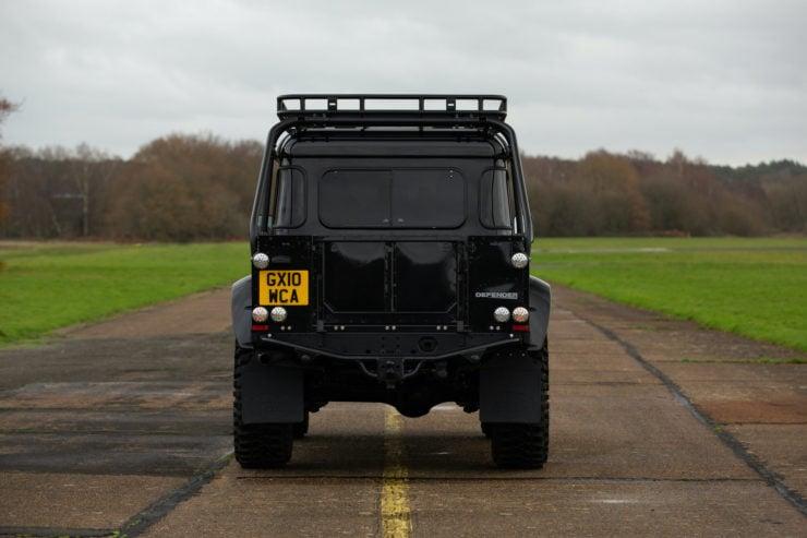 Land Rover Defender SVX Spectre Back
