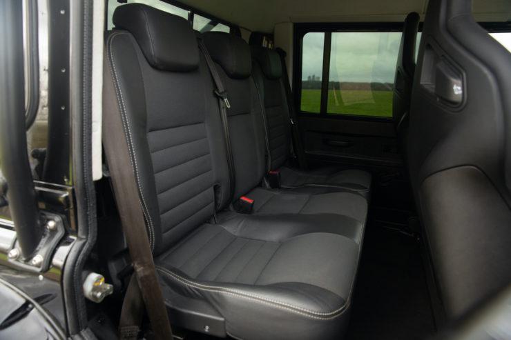 Land Rover Defender SVX Spectre Back Seats