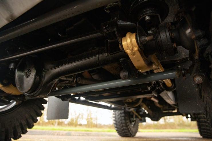 Land Rover Defender SVX Spectre Under Vehicle