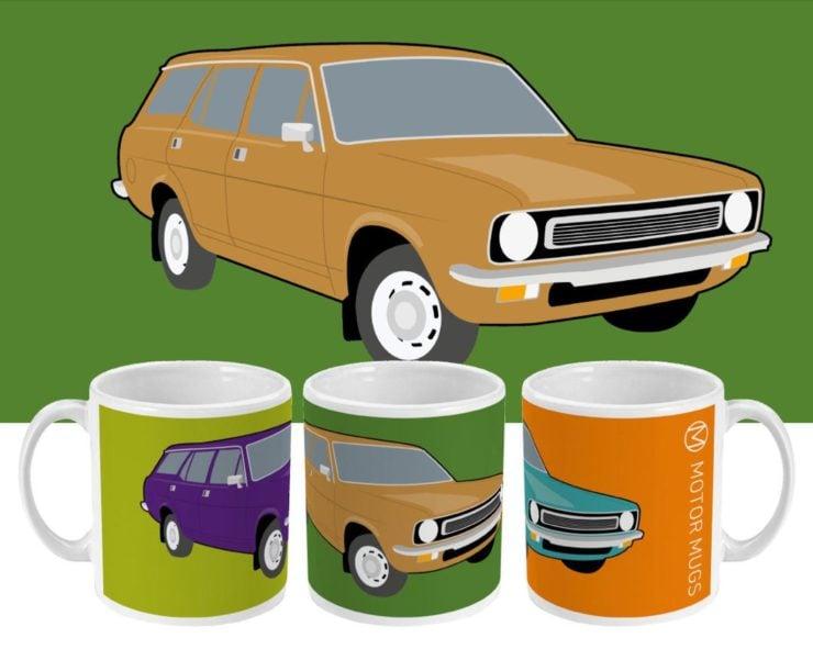 Morris Marina Motor Mugs