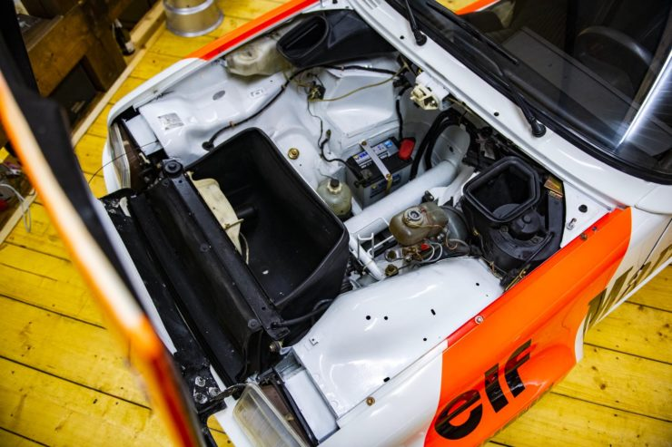 Renault 5 Turbo 1 Engine Bay