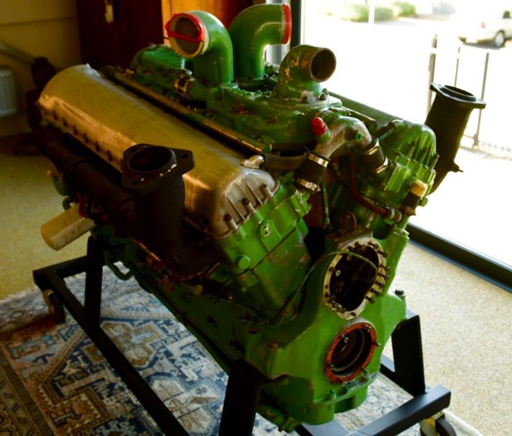 Rolls-Royce Merlin Meteor V12 Engine 7