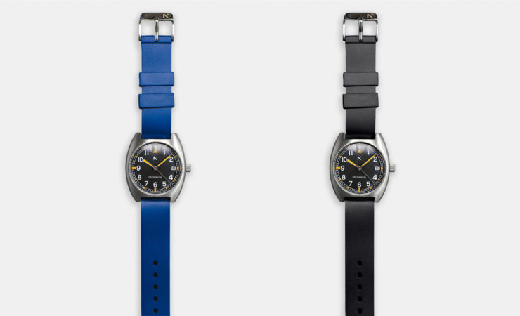 Rotate North Altitude Pilot's Watch Blue and Black