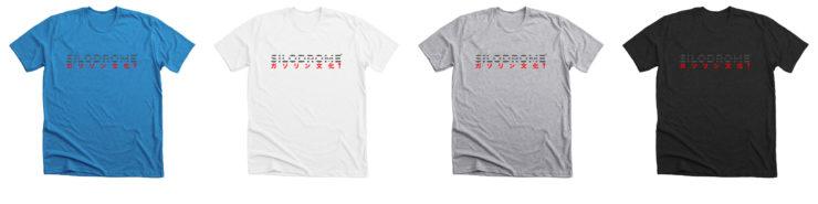 Silodrome x Japan T-Shirt Collage