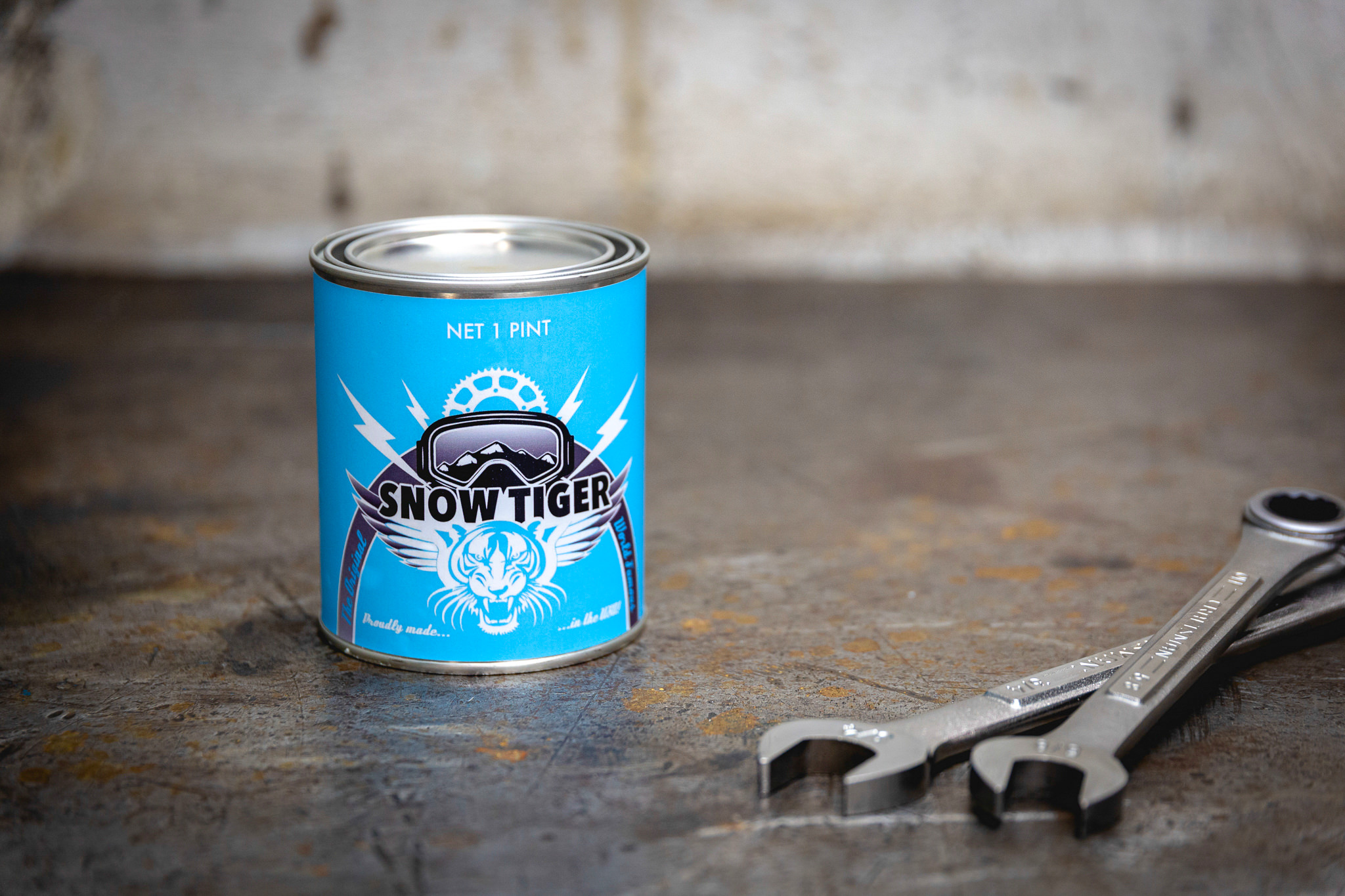 Snowmobile Two-Stroke Oil Scented Candles