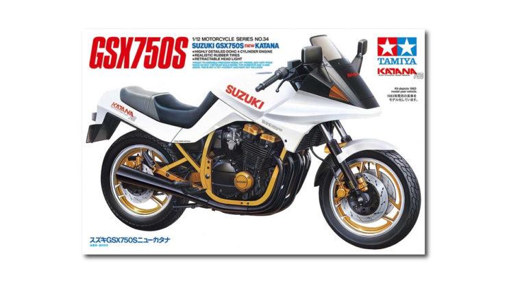 Suzuki GSX750S Katana Model In Box