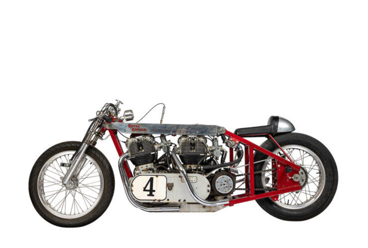 Twin-Engined Royal Enfield Land Speed Racer 1