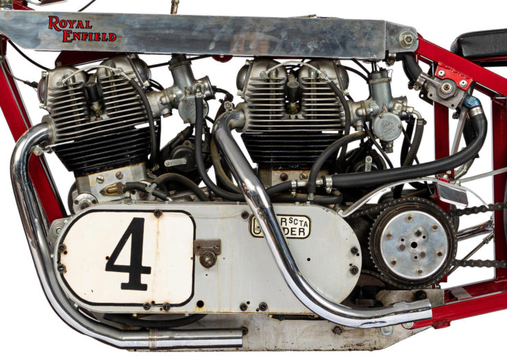 Twin-Engined Royal Enfield Land Speed Racer 4
