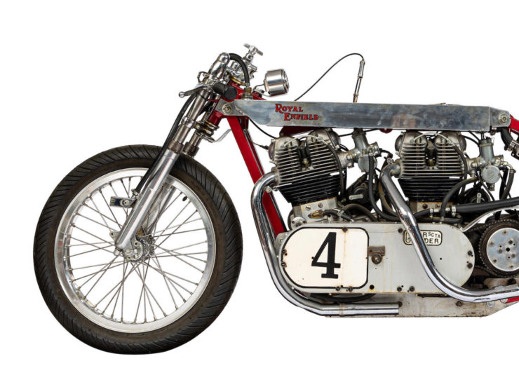 Twin-Engined Royal Enfield Land Speed Racer 5