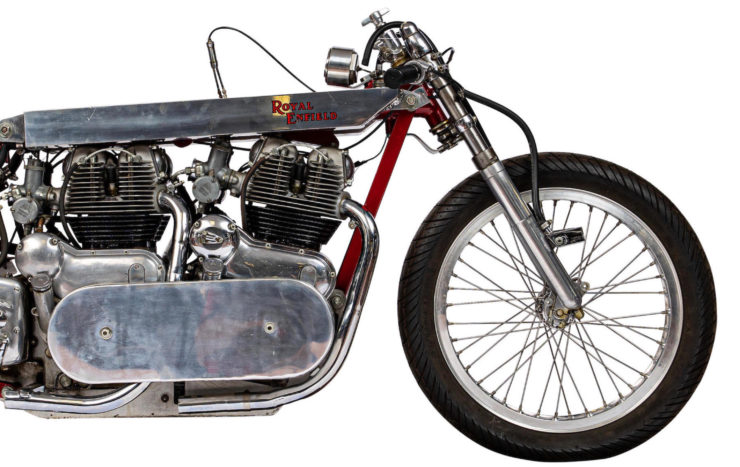 Twin-Engined Royal Enfield Land Speed Racer 6