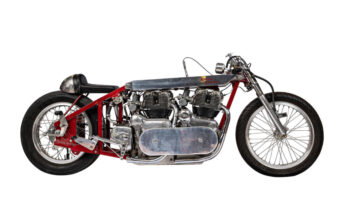 Twin-Engined Royal Enfield Land Speed Racer