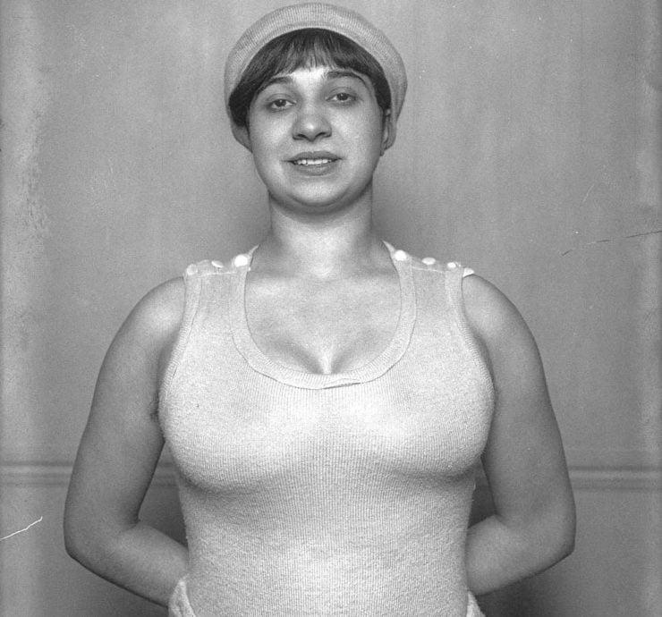 Violette Morris Boxer
