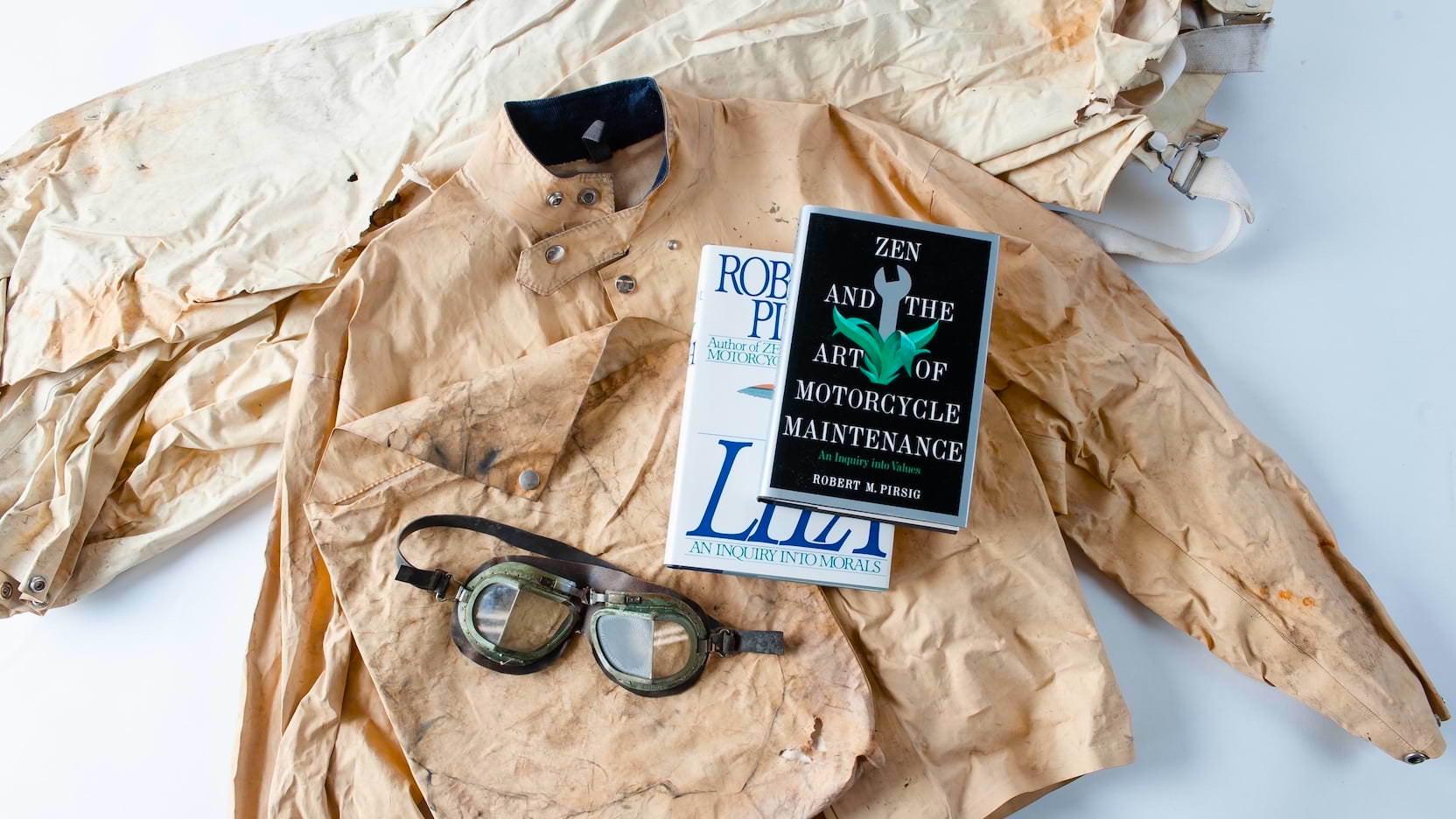 Zen and the Art of Motorcycle Maintenance Robert Pirsig Personal Artifacts