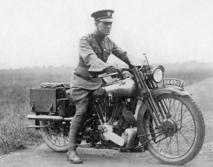 TE Lawrence of Arabia Brough Superior motorcycle