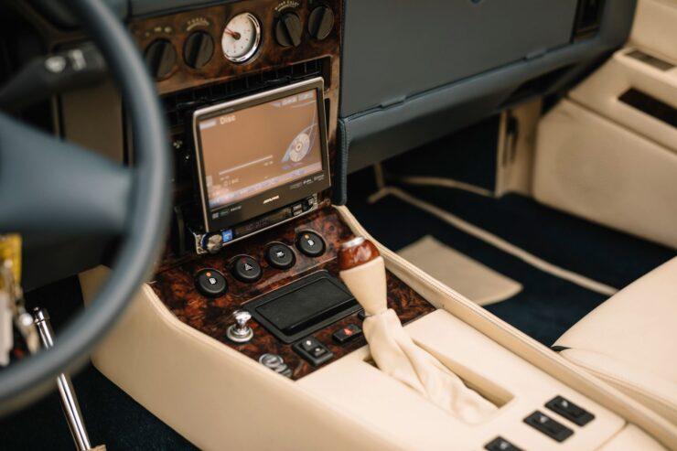 Aston Martin V8 Volante Zagato Console