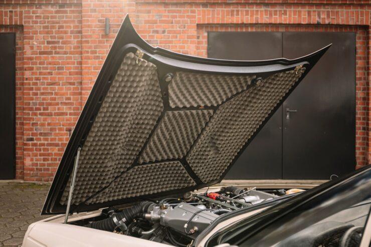 Aston Martin V8 Volante Zagato Hood