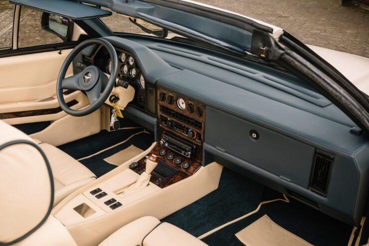 Aston Martin V8 Volante Zagato Interior 2
