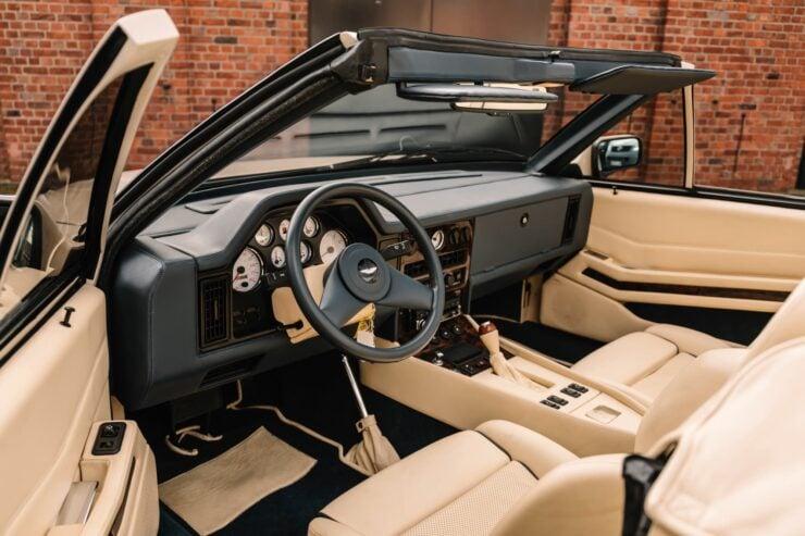 Aston Martin V8 Volante Zagato Interior