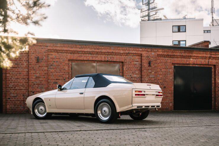 Aston Martin V8 Volante Zagato Rear